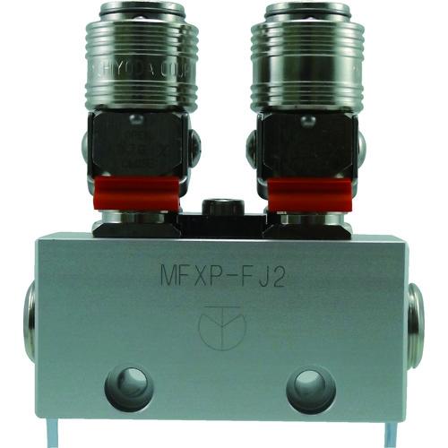 チヨダ フリージョイントXパージ付 2分岐管 MFXP-FJ2