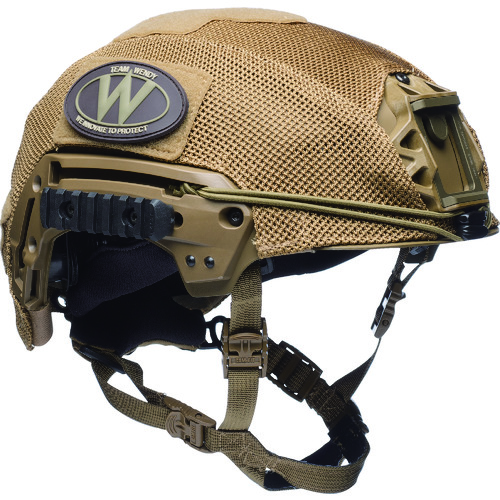 TEAMWENDY EXFIL LTP/カーボン用 メッシュヘルメットカバー 71-MHC-CB