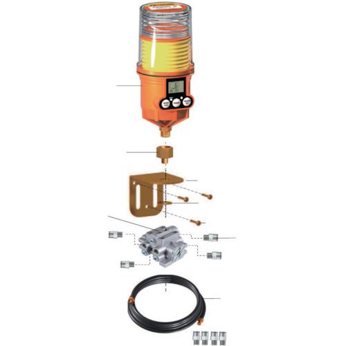 パルサールブ M グリス用マルチポイント設置キット(4箇所) 1250MD-4RS