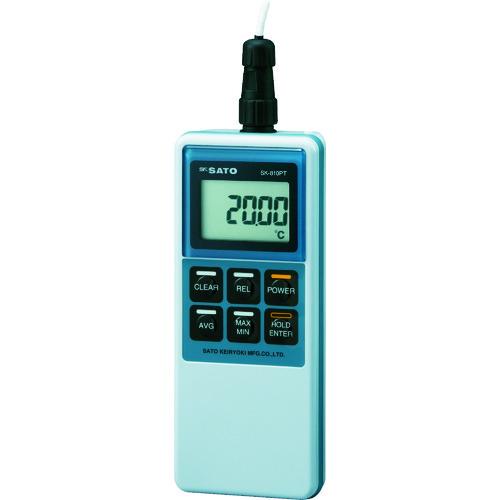 佐藤 精密型デジタル温度計 SK-810PT (8012-00) SK-810PT