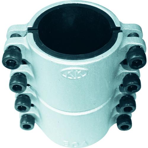 コダマ 圧着ソケット鋼管直管専用型ハーフサイズ65A 1/2 L65AX0.5
