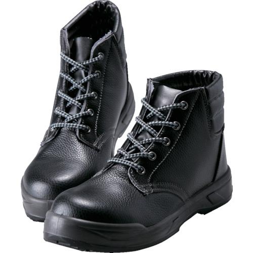 ノサックス  耐滑ウレタン2層底 静電作業靴 中編上靴 24.5CM KC-0066-24.5