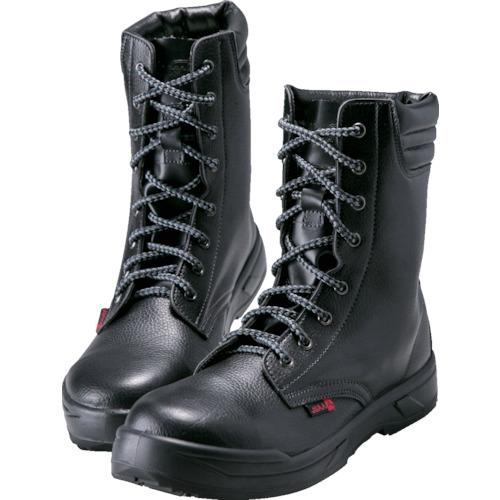 ノサックス  耐滑ウレタン2層底 静電作業靴 長編上靴 25.0CM KC-0077-25.0