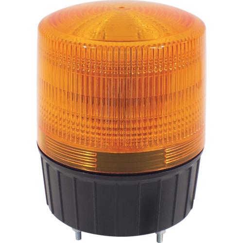 日動 大型LED回転灯 フラッシャーランタン黄 NLA-120Y-100