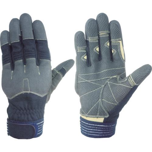 シモン 災害活動用保護手袋(アラミド繊維手袋) KG-130ネービー KG130-L