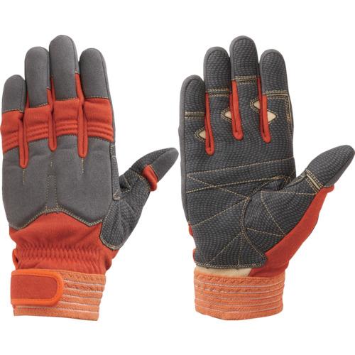 シモン 災害活動用保護手袋(アラミド繊維手袋) KG-140オレンジ KG140-M