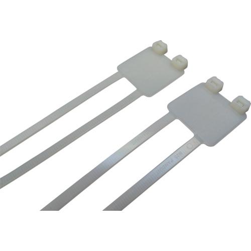 パンドウイット 旗型タイプナイロン結束バンド ナチュラル (500本入) PL2M2S-D