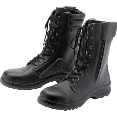 ミドリ安全 女性用長編上安全靴 LPM230Fオールハトメ 25.0cm LPM230F-25.0