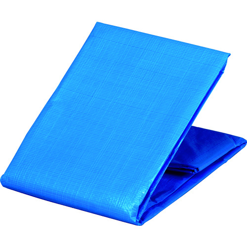TRUSCO 防炎シートα軽量 ブルー 幅3.6mX長さ5.4m GBS3654A-B