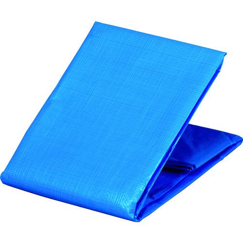 TRUSCO 防炎シートα軽量 ブルー 幅5.4mX長さ7.2m GBS5472A-B
