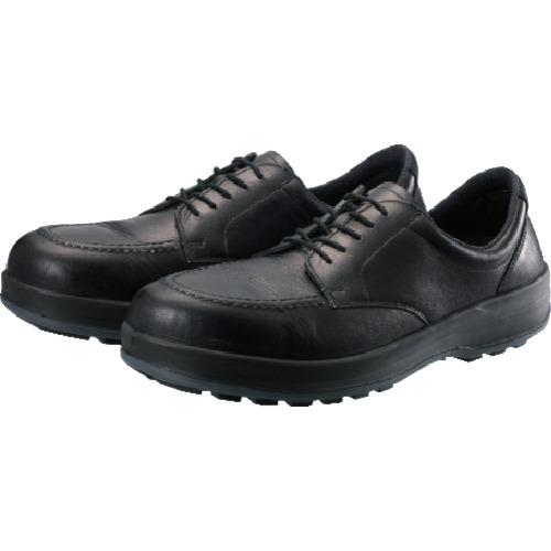 シモン 耐滑・軽量3層底静電紳士靴BS11黒静電靴 24.5cm BS11S-245
