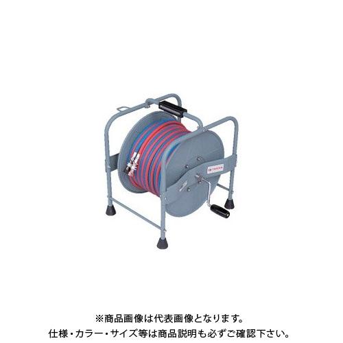 TASCO タスコ 溶接用ホースリール(カプラ付)20m TA381R-20