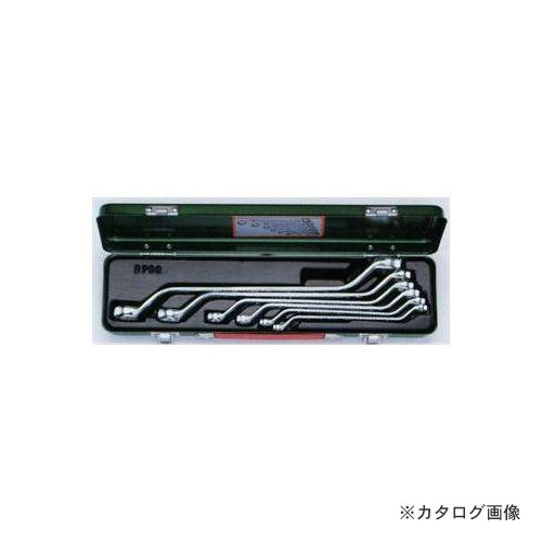 タスコ TASCO TA734XN ロングメガネレンチセット45゚ (6本組)