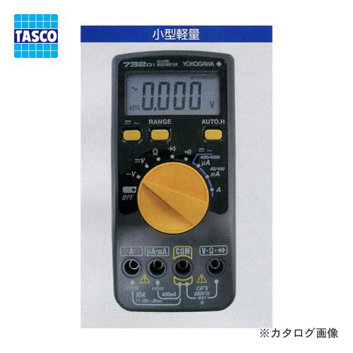 タスコ TASCO TA452YG デジタルマルチメーター