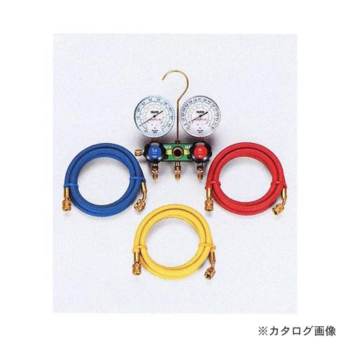 タスコ TASCO TA127-2 HC冷媒用ゲージマニホールドキット