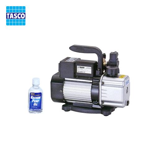 【イチオシ】タスコ TASCO TA150RB オイル逆流防止弁付ツーステージ真空ポンプ