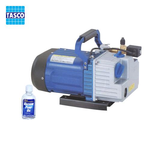 タスコ TASCO TA150YA オイル逆流防止弁付ツーステージ真空ポンプ