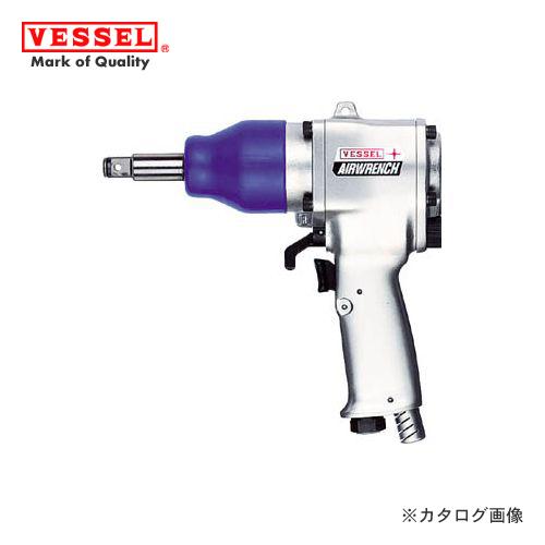 ベッセル VESSEL エアーインパクトレンチ超軽量Vハンマー (普通ボルト径16mm) GT-1600VPHL