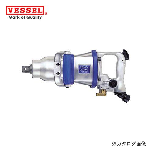 ベッセル VESSEL エアーインパクトレンチ超軽量Vハンマー (普通ボルト径39mm) GT-3900V