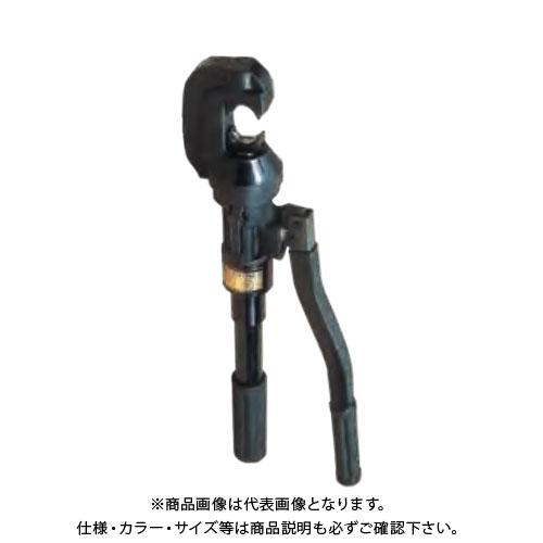 泉精器 IZUMI 手動油圧式圧縮工具 T形コネクタ、裸圧着端子スリーブ 15号B 15GB (T112550010-000)