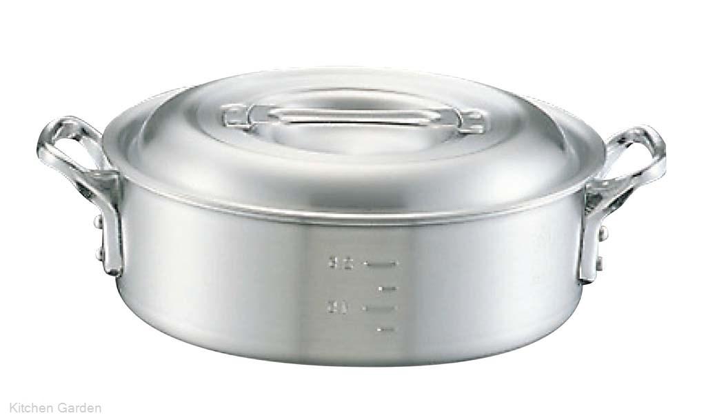 アルミ キング 外輪鍋(目盛付)42cm
