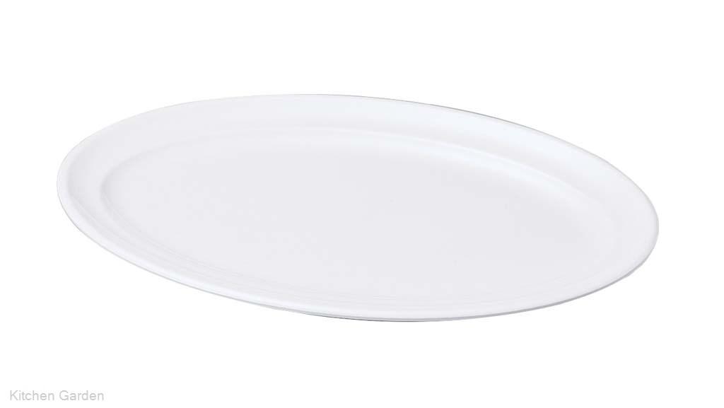 ニューホワイト 小判盛皿 42cm