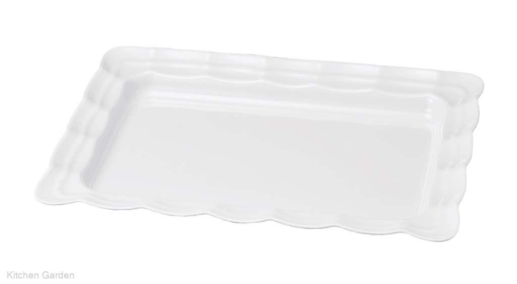 ニューホワイト 波型長角皿 57cm