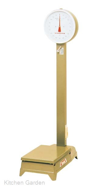 [業務用はかり計量器・台はかり計量器] ヤマト 中型 台秤(車付)100kg【他商品との同梱配送不可・代引不可】