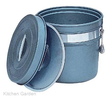 アルマイト 段付二重食缶(内外超硬質ハードコート)246-H 8リットル .[アルマイト]