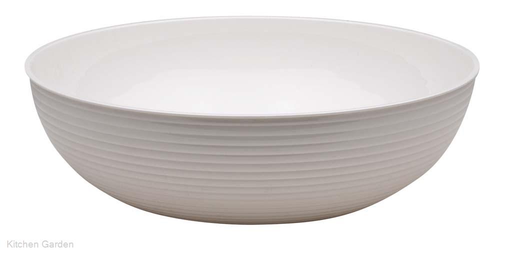 CAMBRO(キャンブロ) 丸型リブド サラダボール RSB23CW (148) ホワイト