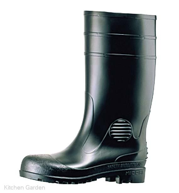 ミドリ安全長靴 ワークエース W1000 黒 28cm