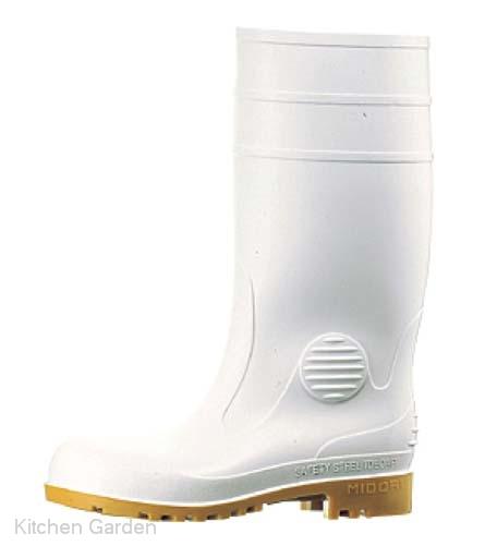 ミドリ安全長靴 ワークエース W1000 白 26.5cm
