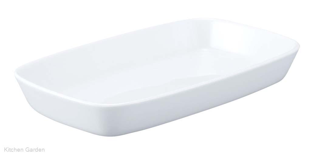 シェーンバルド 角型 グラタン皿 9148444(1011-44)白