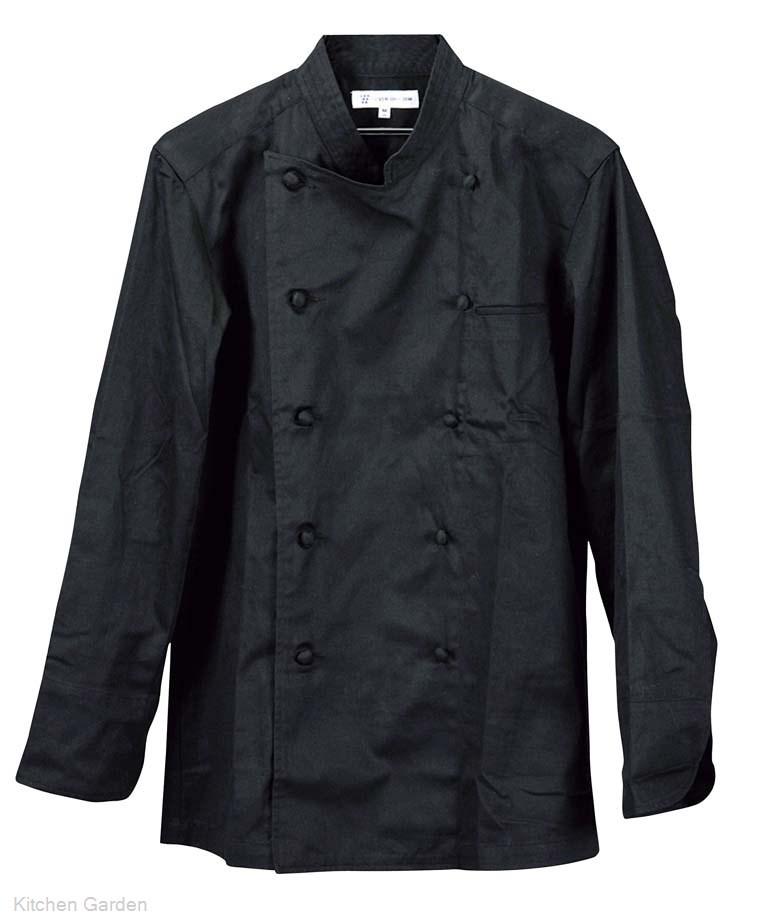 コックコート(男女兼用) BA1041-9 3L ブラック