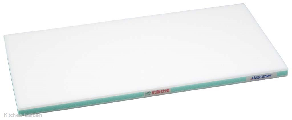 抗菌かるがるまな板 SDK 500×300×20 ホワイト/緑線【他商品との同梱配送不可・代引不可】
