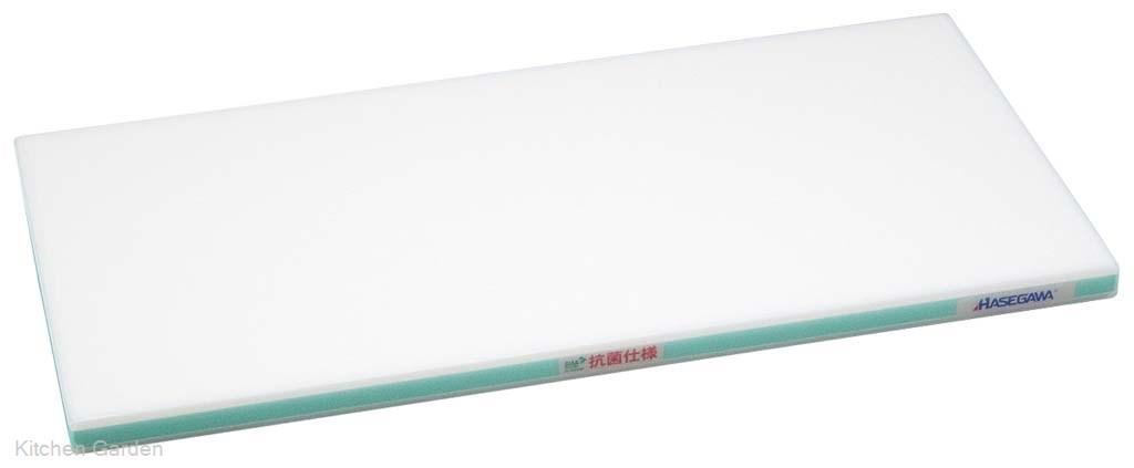 抗菌かるがるまな板 SDK 600×300×25 ホワイト/緑線【他商品との同梱配送不可・代引不可】