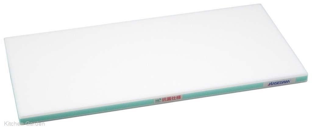 抗菌かるがるまな板 SDK 900×400×30 ホワイト/緑線【他商品との同梱配送不可・代引不可】