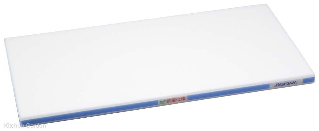 抗菌かるがるまな板 HDK 800×400×30 ホワイト/青線【他商品との同梱配送不可・代引不可】