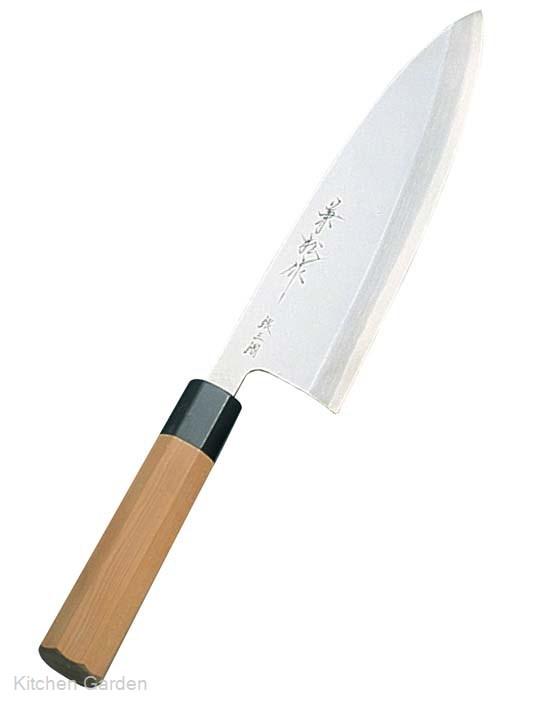 兼松作 銀三鋼 出刃庖丁 22.5cm