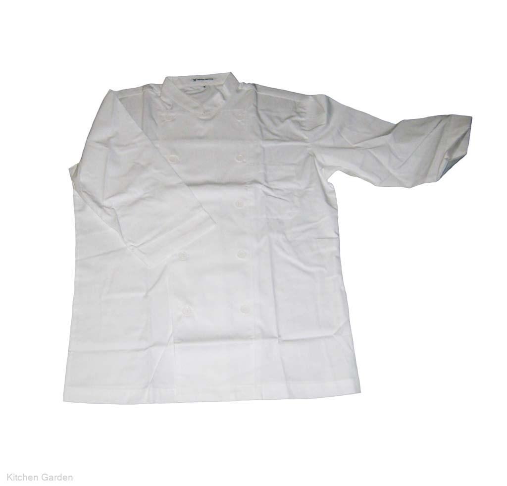 コックシャツ(男女兼用) BA1208-0 オフホワイト M