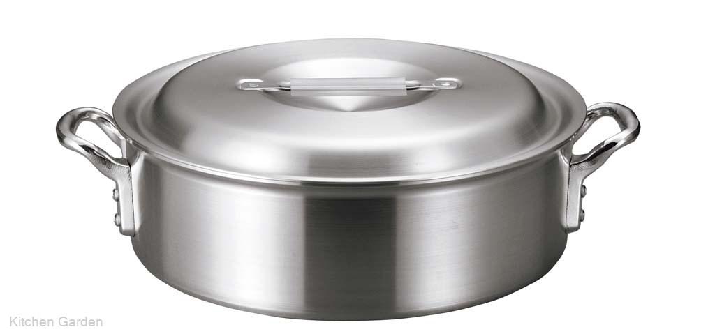 アルミ バリックス 外輪鍋(磨き仕上げ)30cm