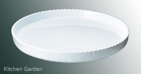 ロイヤル 丸 グラタン皿 No.300 32cm ホワイト