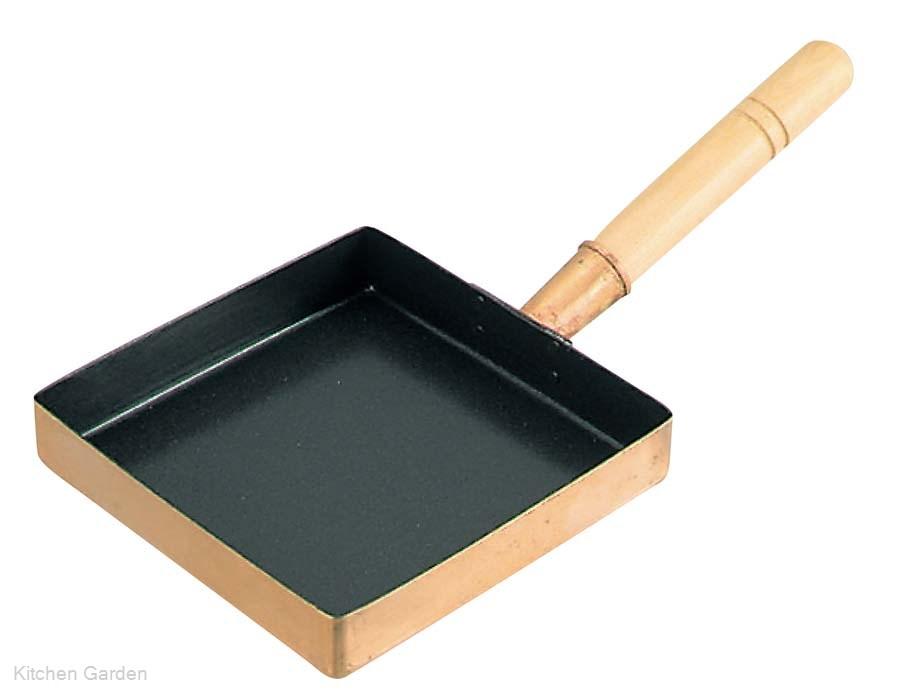 EBM 銅製 卵焼き器 関東型(フッ素樹脂加工)24cm .[銅製]