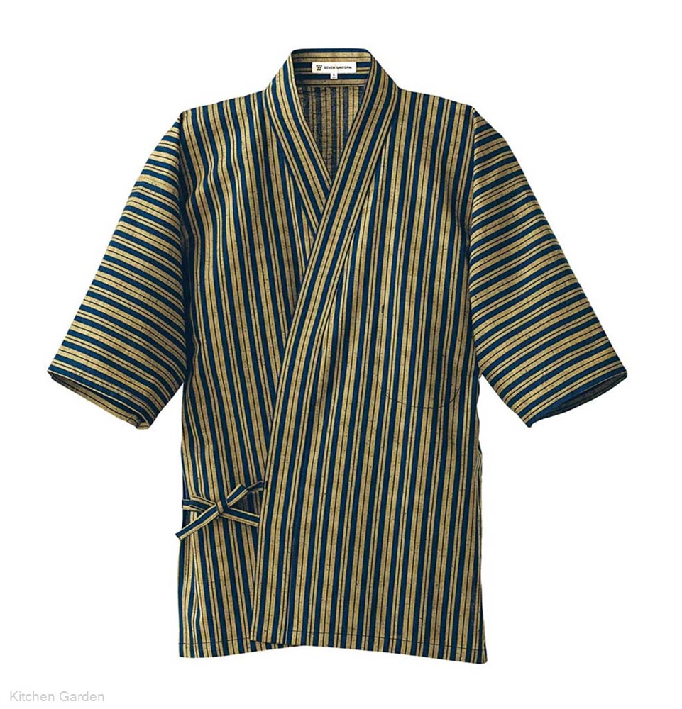 男性用 和風ハッピーコート(調理服) BC1361-7 L