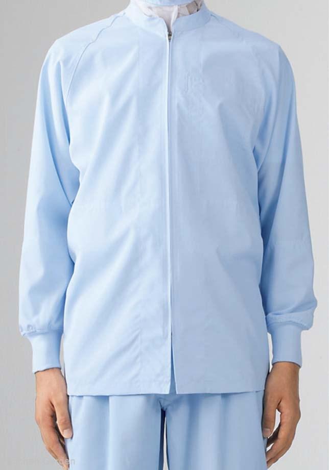 男女兼用ブルゾン(長袖)8-423 ブルー M