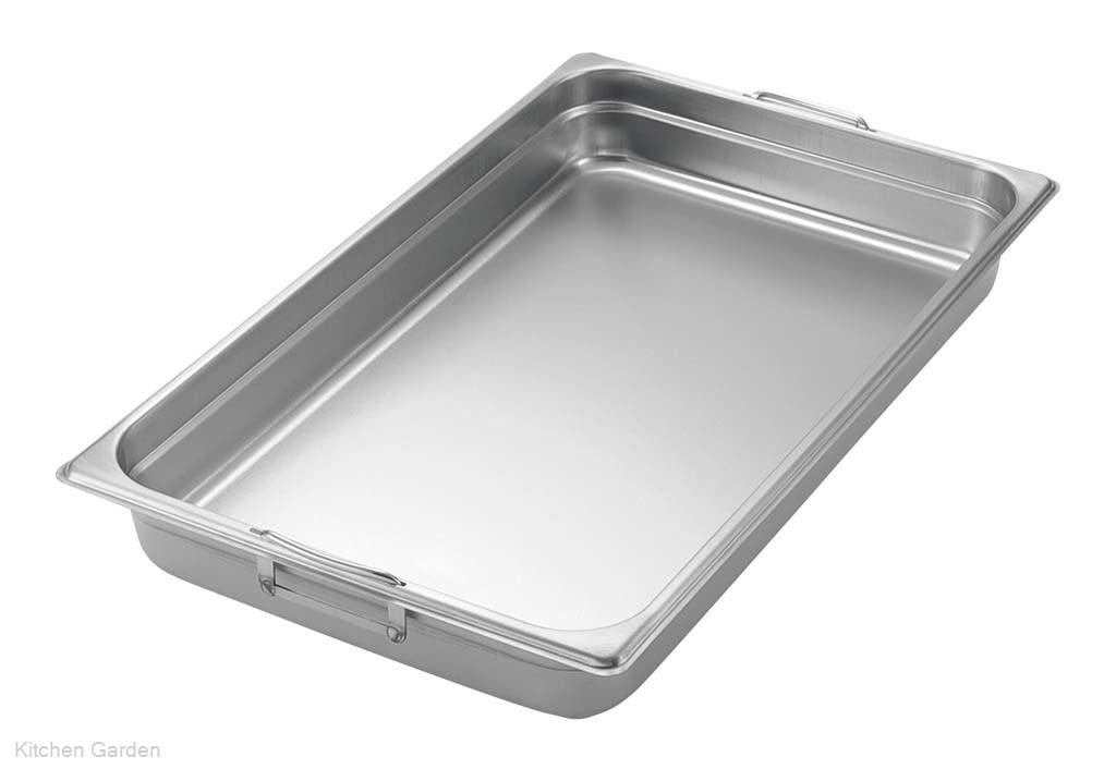 テーブルパンII フック(取手)付 1/9 150mm .[18-8 ステンレス製]
