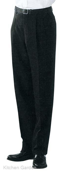 スラックス DL2969-9 ツータック 黒 ウエスト79cm