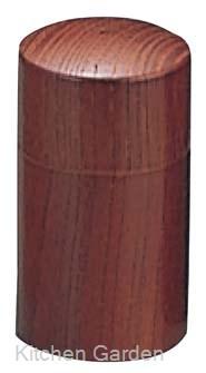 入荷予定 塩入れ 塩ボトル 卓上調味料容器 ウッドイン 筒型 1ツ穴 15217 ファッション通販 ブラウン