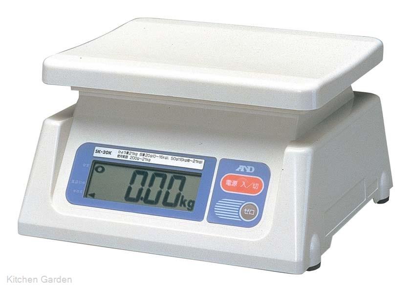 A&D デジタルはかり SK-20Ki 検定済品