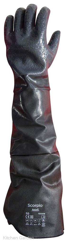耐油・耐熱用手袋 スコーピオ ロング 19-026(1双)M